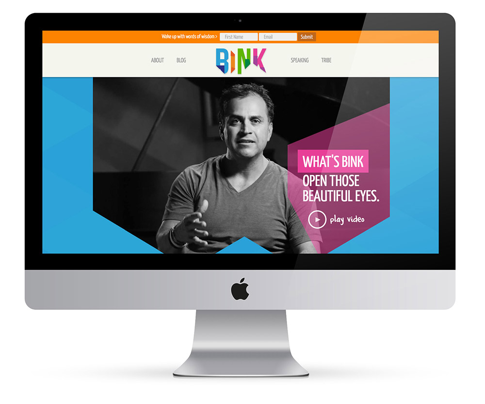 Project Bink Website