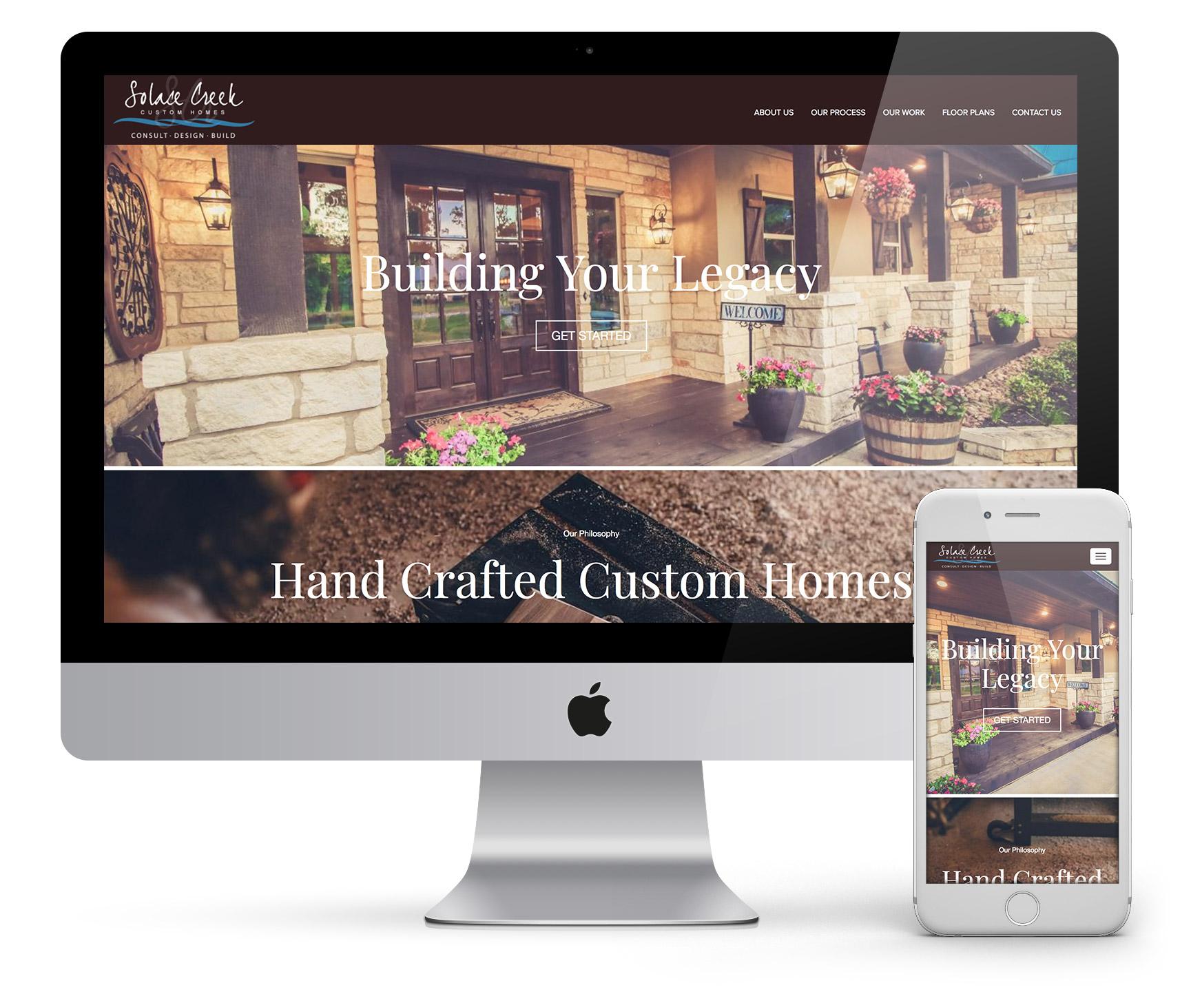 Solace Creek Website Upgrade
