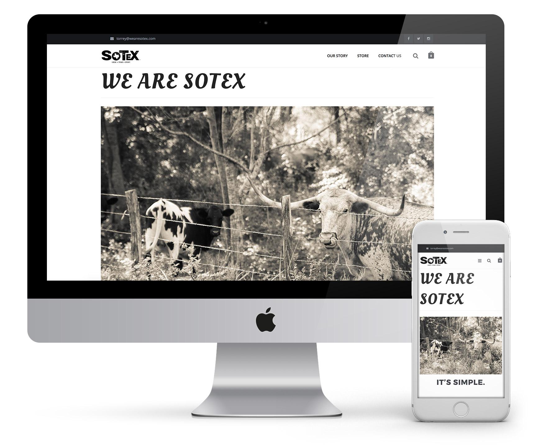 SOTEX Online Store
